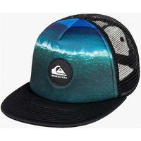 czapka z daszkiem QUIKSILVER - Psychic Pattern Black (KVJ0)