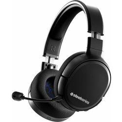 słuchawki gamingowe arctis 1 wireless for ps4, czarne (61513) marki Steelseries