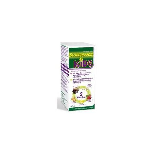 Syrop SCORBOLAMID KIDS SYROP 115ML