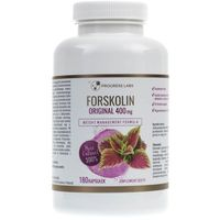Kapsułki Progress Labs Forskolina Pokrzywa Indyjska 400 mg - 180 kapsułek