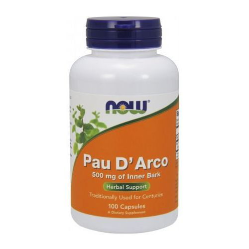 Now Foods Pau D'Arco (LaPacho) 500mg 100 kaps