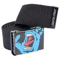 pasek SANTA CRUZ - Screaming Hand Belt Black (BLACK)
