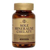 Tabletki SOLGAR Sole Mineralne chelaty x 90 tabletek