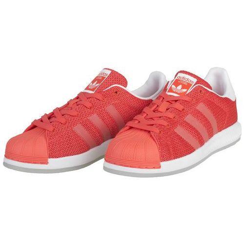 Superstar bounce j bb0332 - pomarańczowy, Adidas