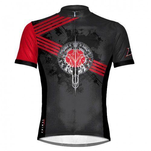 Koszulka rowerowa PRIMAL - Crankin Red limited, 292
