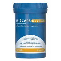 BICAPS D3 VEGE 60 kapsułek Formeds (5902768866803)