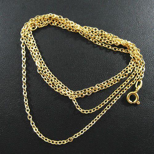 Złoty łańcuszek L599