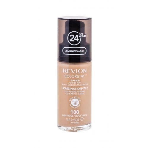 Revlon Colorstay Combination Oily Skin SPF15 podkład 30 ml dla kobiet 180 Sand Beige - Świetna obniżka