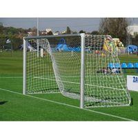 Profesjonalna bramka piłkarska ALUMINIUM 3 m x 2 m rury 120 mm + SIATKA!