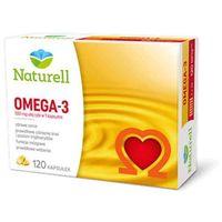Kapsułki Naturell omega-3 - kwasy tłuszczowe wspomagające serce - 120 kaps.