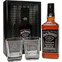 Whiskey Jack Daniel's zestaw prezentowy ze szklankami puszka 0,7l (5099873045671)