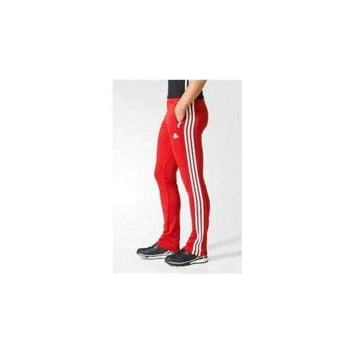 ADIDAS SPODNIE DRESOWE SWEAT DAMSKIE T16 RED-WHITE, KOLOR: RED - WHITE, ROZMIAR: M (4056562585512)