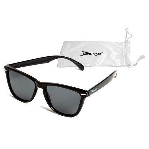 Okulary przeciwsłoneczne dzieci 4-10lat UV400 BANZ - Flyer Black