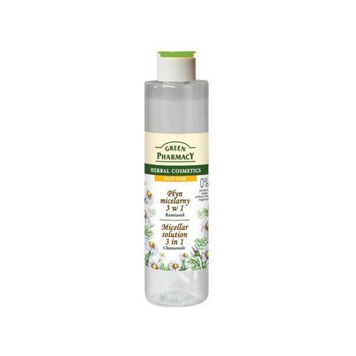 Green Pharmacy Face Care Chamomile woda micelarna 3 w 1 (0% Parabens, Soaps, Artificial Colouring, Fragrances) 250 ml