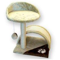 drapak dla kota mostek z sizalem i leżanką 47cm marki Yarro