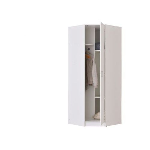 Szafa Narożna Olessia 1 Para Drzwi Dł 80 Cm Kolor Biały Vente Unique