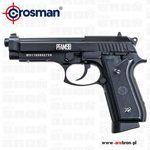 Crosman Pistolet wiatrówka pfam9b 4,5mm - full auto, blow back, śrut bb, co2, szyna ris