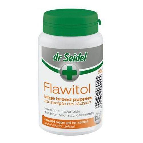 Tabletki Flawitol witaminy dla szczeniąt ras dużych 60 tabletek
