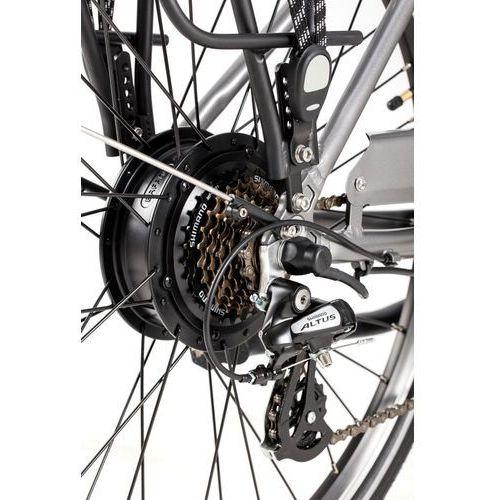 Ecobike Rower elektryczny city l 28'', bateria: 36v / 6,6 ah headway + zabezpieczenie kryptonite