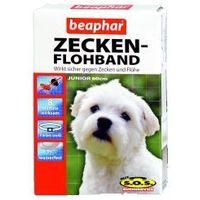 Beaphar zecken folhband junior - obroża insektobójcza dla psów kolor: biały 60cm