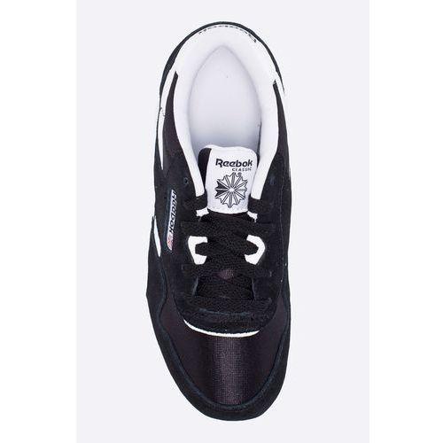Reebok Classic Buty dziecięce CL Nylon Reebook Classic Buty chłopięce czarne w