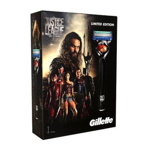 Gillette zestaw justice league fusion proglide maszynka + 3 głowice - Znakomity rabat