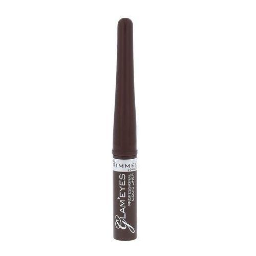 Rimmel London Glam Eyes eyeliner 3,5 ml dla kobiet 002 Brown Velvet - Ekstra oferta