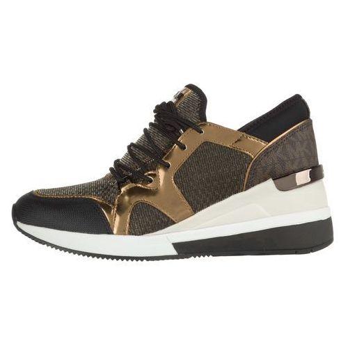 Michael Kors Scout Sneakers Brązowy Złoty 36