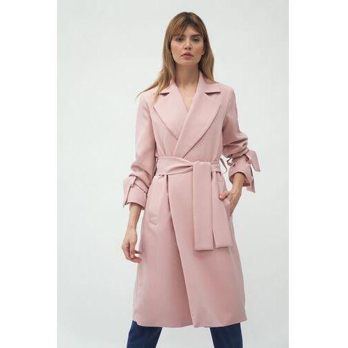 Nife Niezapinany wiosenny płaszcz - różowy