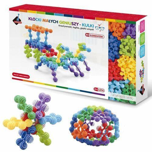Klocki kulki w pudełku 80 elementów