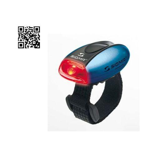 lampka rowerowa micro tylna - niebieska marki Sigma