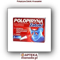 Polopiryna Rapid prosz.doust. 0,5g+0,01558g 6 sasz. (5909991019501)
