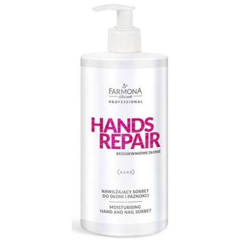 Farmona hands repair nawilżający sorbet do dłoni i paznokci - Ekstra promocja