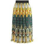 Molly Bracken LADIES SKIRT Spódnica ołówkowa saffron yellow
