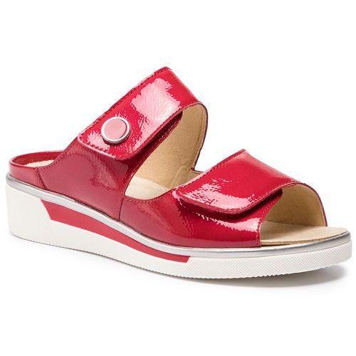 Klapki - 12-17448-78 rosso marki Ara