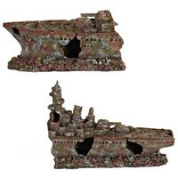 dekoracja wrak krążownika 70cm marki Trixie