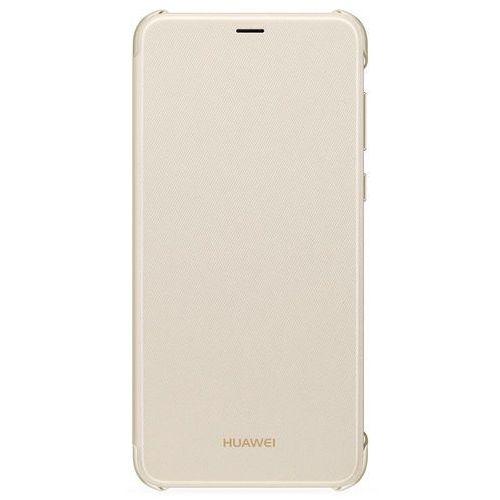 Etui HUAWEI Bookcover do Huawei P Smart Złoty (6901443208388)