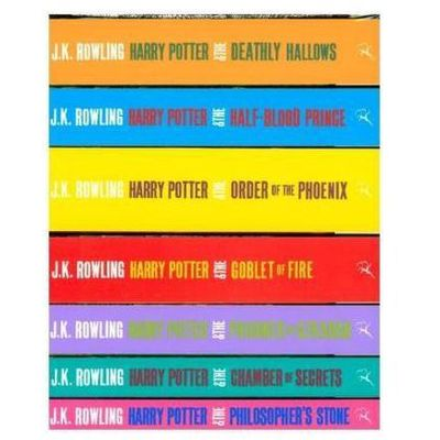 Harry Potter Boxed Set: The Complete Collection (Adult Paperback) Rowling, Joanne K., Bloomsbury