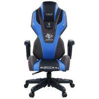 Fotel E-BLUE Auroza EEC324BLAA-IA Czarno-niebieski