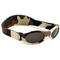 Okulary przeciwsłoneczne dzieci 2-5lat UV400 BANZ - Brown Camo