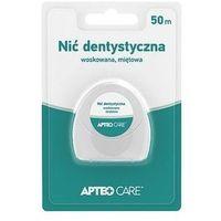 Synoptis pharma Apteo care nić dentystyczna woskowana miętowa 50m