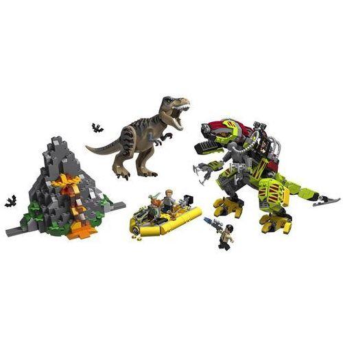 75938 TYRANOZAUR KONTRA MECHANICZNY DINOZAUR (T. rex vs Dino-Mech Battle) - KLOCKI LEGO JURASSIC WORLD