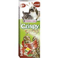 Versele laga crispy sticks rabbits - chinchilla - 2 kolby ziolowe dla królików i szynszyli