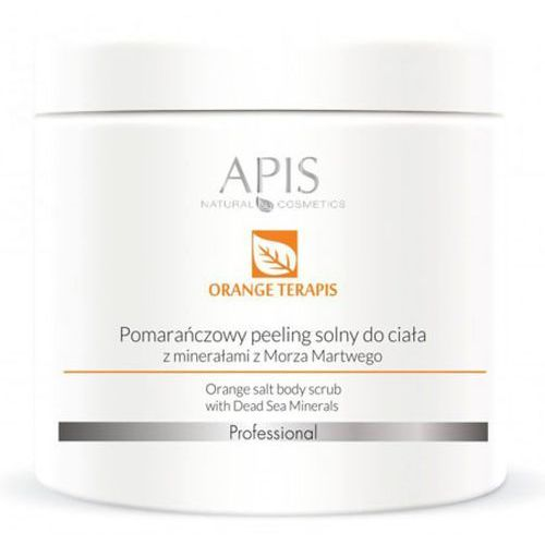 Orange terapis pomarańczowy peeling solny z minerałami z morza martwego (51635) Apis - Bardzo popularne