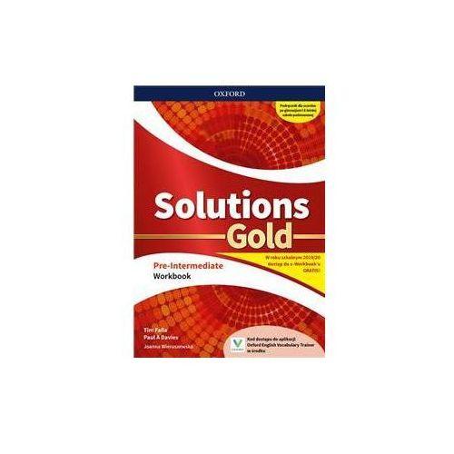 Solutions Gold Pre-Intermediate. Workbook (9780194907231)