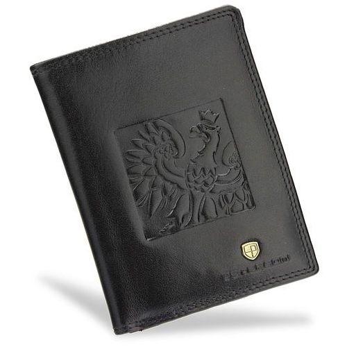 51fe02d9b220c Zobacz ofertę Bezpieczny Portfel Męski Skórzany Peterson Skóra Naturalna  Czarny System RFID 342 Orzeł Patriotyczny