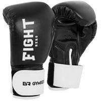 Rękawice bokserskie dla dzieci - czarne - 6 oz