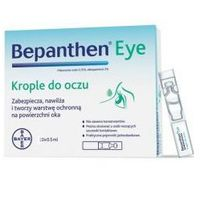 Bepanthen eye krople do oczu 0.5ml 10 sztuk marki Penta arzneimittel