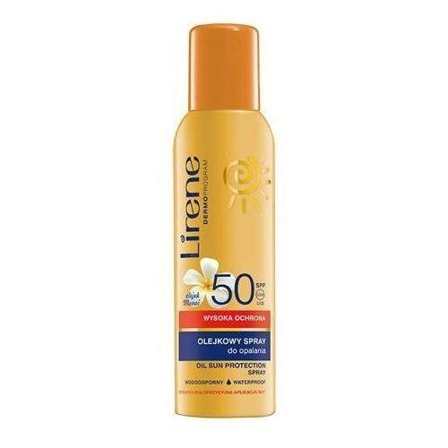 Lirene olejkowy spray do opalania spf50 150ml Dr irena eris - Promocja