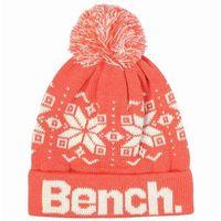 czapka zimowa BENCH - Skipp Dark Coral (OR046)